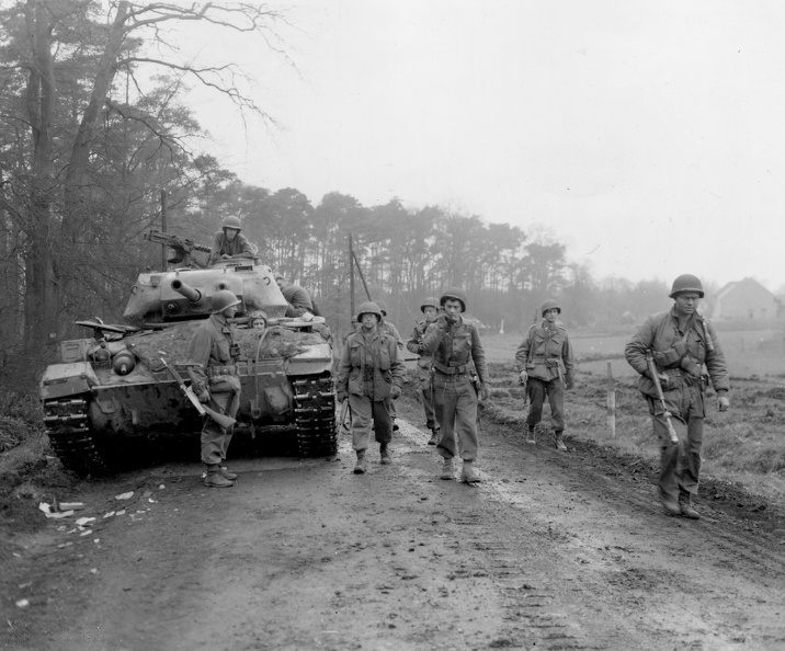 30th Inf Div 9th Army Wesel Forest Germany 26 mar 45.jpg