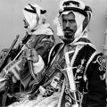 King Saud of SA guards Feb 45 meeting FDR