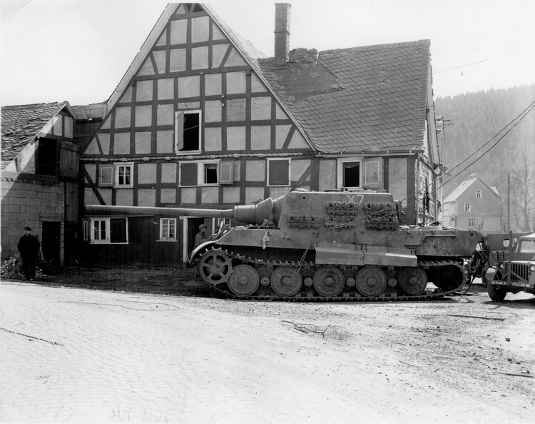Captured Jagdt Tiger Netphen Germany April 45.jpg