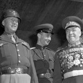 Patton and Zhukov Berlin Germany  9-7-45